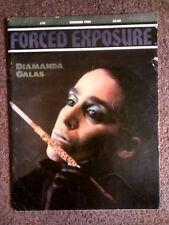FORCED EXPOSURE #15 fanzine- Diamanda Galas*SUN CITY GIRLS*Lydia Lunch*Tesco Vee