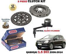 für Nissan Qashqai 1.5 dCi K9K 1461cc J10 JJ10 2006-2014 KUPPLUNG SET mit Sklave