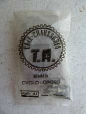 NOS TA Specialties shoe cleats, Ref 41, Cyclo-cross, with spikes, cyclocross
