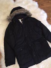 NEW Penfield for JCrew Hoosac Jacket Parka Black Size XL  B1821 $400