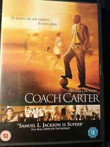 Coach Carter DVD Samuel L Jackson