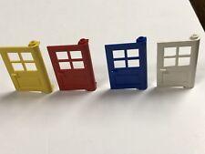 Lego parte 60599 60623 marco de puerta puertas 1 X 4 X 6 con 4 paneles y Stud Mango