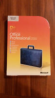 NEW Microsoft Office Professional 2010 for 2 PCs GENUINE BRAND SEALED BOX