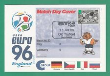FOOTBALL  -   STAMP  COVER  ENVELOPE  FOR  EURO  96  -  MATCH  NO.  23 -  1996