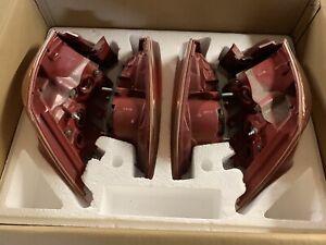 08-15 Mitsubishi Lancer Evo X OEM Red Housing Tail Lights (Full Set) GSR Or MR