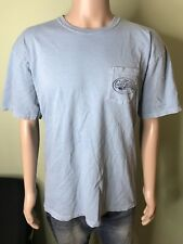 Men's Coastal Waters Supply Co T Shirt With Breast Pocket Size XL