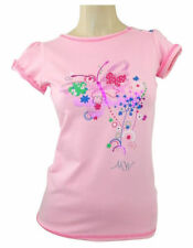 Girls' Floral Scoop Neck Short Sleeve Sleeve T-Shirts, Top & Shirts (2-16 Years)
