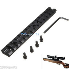 "5.5"" Picatinny Weaver 20mm Rail Mount 13 Slots Fit For Rifle/Scope/Shotgun #28"