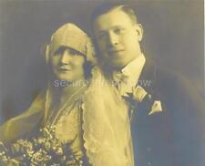 Judaica VINTAGE PHOTO LOT w PAPER EPHEMERA & BUTTON: Fashionable Wedding 1926 ID