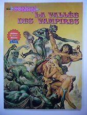 CONAN ARTIMA COLOR MARVEL GEANT N° 4 LA VALLEE DES VAMPIRES TRES BON ETAT