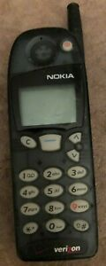 Nokia 5185 Cell Phone Vintage Black TDMA Verizon Fast Ship Very Good Used