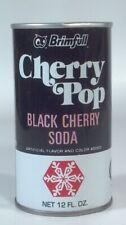 Brimfull Black Cherry Soda Pop Can Straight Steel Red Owl Hopkins MN