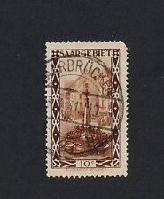 Germany Stamp SAARGEBIET  USED  HINGED 1926 Local Motif 10c (Z1)