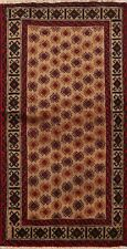 4x6 Tribal Geometric Balouch Afghan Area Rug Hand-knotted Wool All-Over Carpet