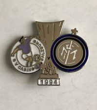 "INTER FC PINS FINALE COPPA UEFA 1993-1994 C SALISBURGO - INTER ""N: 078"" clips"