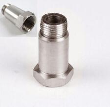 O2 Sensor Stainless Steel Oxygen Exhaust Sensor Bung Extension Extender M18x1.5
