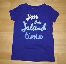 GYMBOREE GREEK ISLE SS BLUE ISLAND TIME TOP GIRLS 12 COTTON SPRING SUMMER