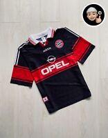 1997 1998| Bayern Munich Vintage Away Football Soccer Shirt Jersey Germany Retro