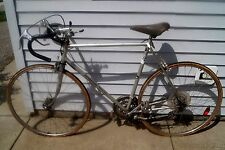 """1970s Motobecane """"Mirage"""" Made in France Silver 10 Speed Road Bike Bicycle"""