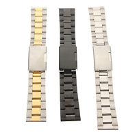 18/20/22/24mm Acero Inoxidable Correa Banda Pulsera de Reloj Watch Band Bracelet