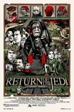 Tyler Stout The Return of the Jedi Poster Print 2010 Star Wars Episode VI Mondo