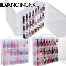 Boîte Coffret Étui pour 48 Vernis à Ongle UV Gel Rangement Organisateur Nail Art