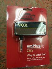 Vox amPlug 2 AC30 Headphone Guitar Amp nib