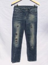 MANILA GRACE Distressed Jeans 30x30 (Size 28) Fashion Designer ITALY