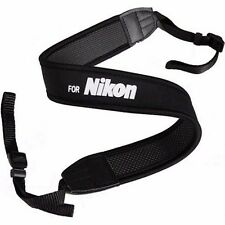 New Shoulder Neck Belt Wide Strap For Nikon Digital Camera DSLR