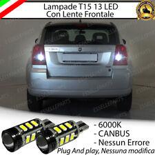 LAMPADE RETROMARCIA 13 LED T15 W16W CANBUS DODGE CALIBER NO ERROR