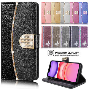 Case For iPhone 11 12 Pro 8 7 6 Plus XR SE Leather Flip Wallet Stand Phone Cover