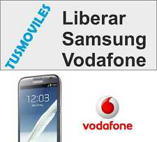 Liberar Samsung Vodafone Galaxy S4 S3 S2 S Nexus One Note  ACE mini Star Y Young