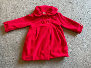 Next Baby Girl Red Coat 12-18 Months