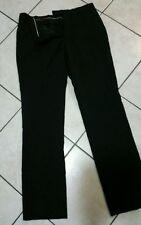 Regular Size Polyester Dress-Flat Front Pants for Men