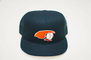 Charlotte Stone Crabs MiLB Fitted New Era 5950 new vintage USA 7 1/4 wool NWOT