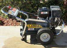 Used Landa PG4-353245 Gas Engine Cold Water Pressure Washer