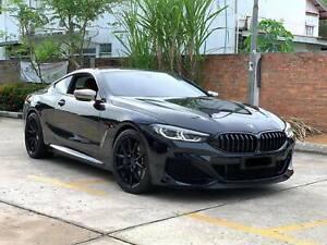 "20"" ROHANA RFX13 GLOSS BLACK CONCAVE WHEELS FOR BMW G30 530 540 M550I"
