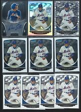 DOMINIC SMITH 2013 Bowman Sterling RC AUTO, Chrome REFRACTOR RC Lot (14) METS