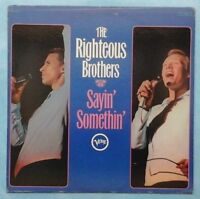 RIGHTEOUS BROTHERS ~ SAYIN' SOMETHIN' ~ 1967 US 12-TRACK STEREO LP RECORD