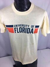 Vtg 70's University of Florida Gators College Ultra Thin Soft 50/50 T-Shirt S/M