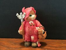 Vintage 1994 Enesco Calico Kitten You're My My Little Devil Figurine #625159