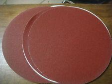 10 disques abrasif 300 mm 305mm grain 100 velcro GELVA SAINT GOBAIN Hegner Jet