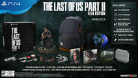 The Last Of Us Part 2 - ELLIE EDITION Limited Collectors Edition PS4 Pre-Order