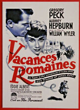 Movie Posters #2 - Card #10 - Audrey Hepburn, Gregory Peck - Roman Holiday, 1953