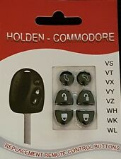 2 x Sets Replacement Holden Commodore Key Buttons VS VT VX VY VZ WH WK WL
