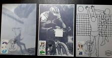 ISRAEL MAXIMUM CARD 1996 SPORTS CYCLING PARAGLIDING VOLLEYBALL RARE SET