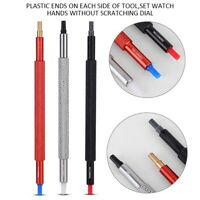 3pcs Watch Hand Pressing Repair Tools Pusher Fitting Set Kit for All Watches