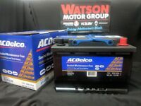 VE VF Holden Commodore Battery Acdelco S56838  3 YEAR WARRANTY