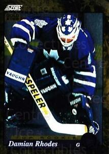 1993-94 Score Canadian Gold #604 Damian Rhodes