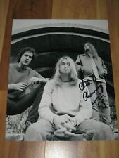 CHAD CHANNING Signed 8x10 KURT COBAIN Photo NIRVANA AUTOGRAPH